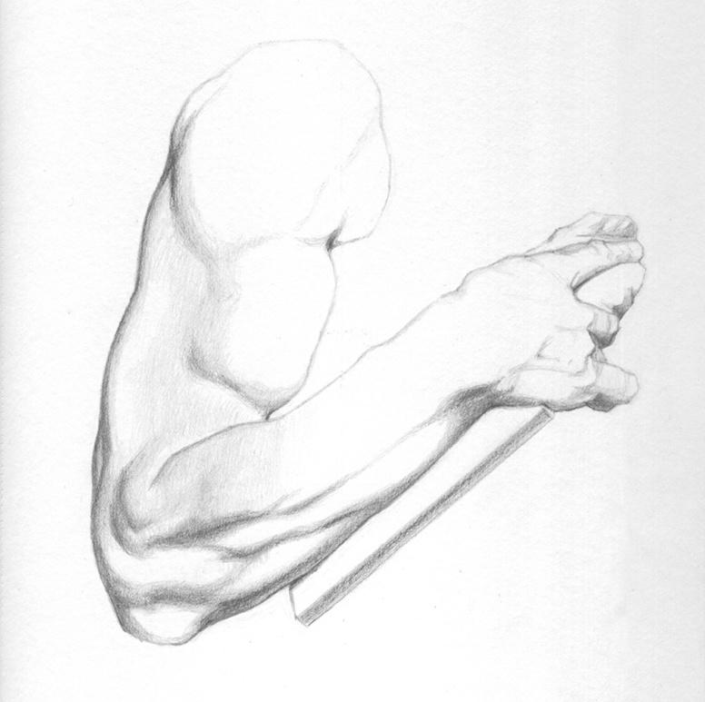 dibujo-brazo-grafito