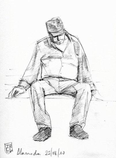 Hombre-durmiendo-grafito