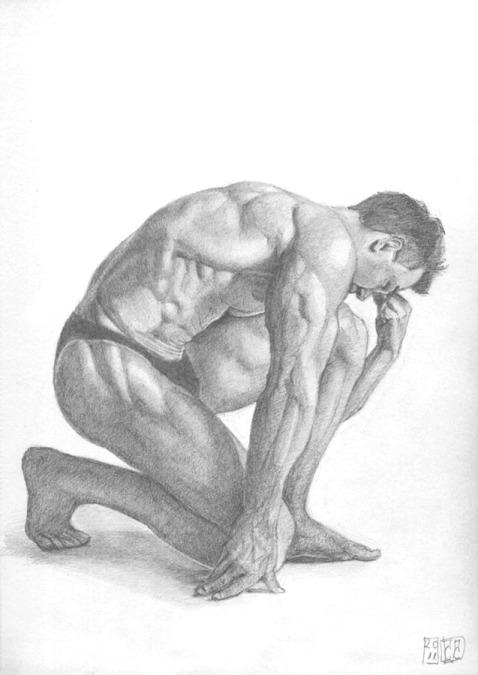Figura-hombre-grafito