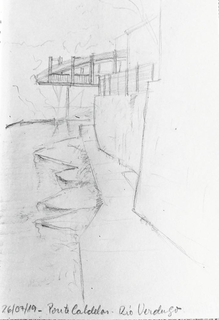 Dibujo puente Rio Verdugo