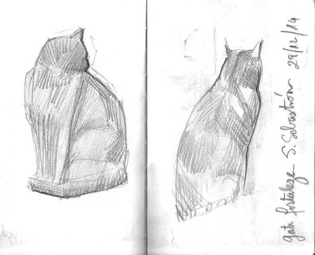 dibujo-gato-grafito