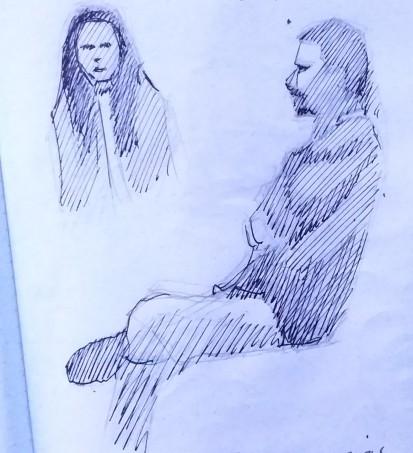 Sketch tinta