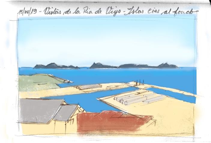 Ria de Vigo boceto