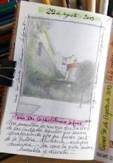 Boceto calle Vigo