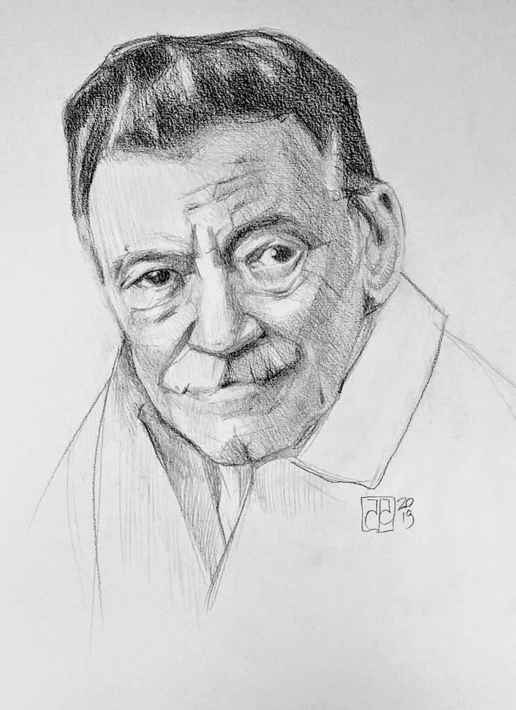 Retrato Mario Benedetti