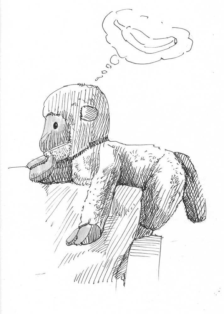 Peluche Mono