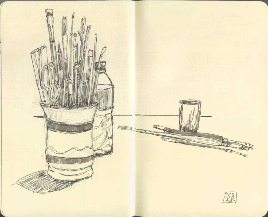 Lapices y pinceles