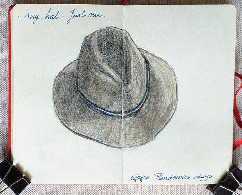 sombrero grafito