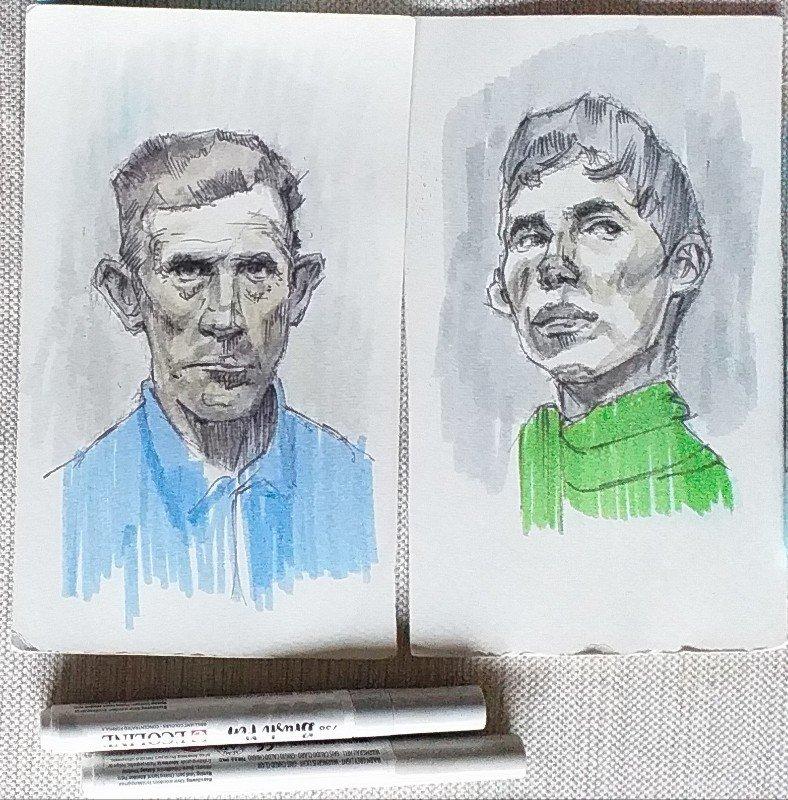 Retratos rotulador