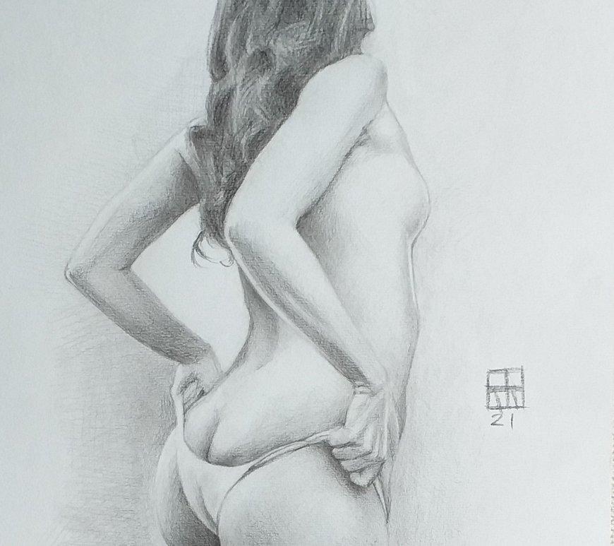Dibujo desnudo